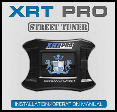 XRT Pro Instruction Manual