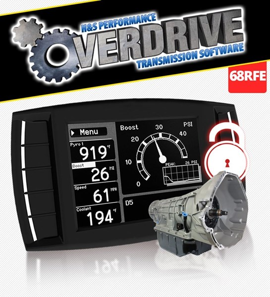 111004 - Dodge Cummins Overdrive Software Transmission Tuning Unlock Code