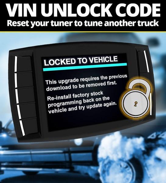 H&S VIN Unlock Reset Code
