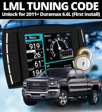 111006 - H&S Unlock Code for First-Time Installs on 2011+ GMC or Chevy Duramax 6.6L LML diesels