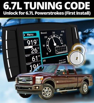 111005 - H&S Unlock Code for First-Time Installs on Ford Powerstroke 6.7L diesels