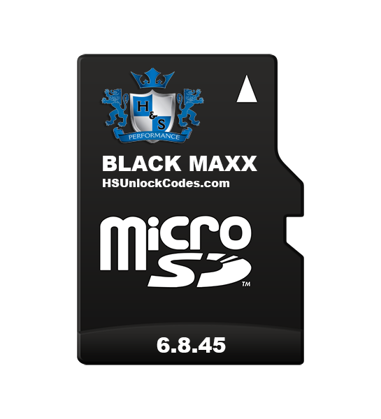Picture of Black Maxx - SD Card Backup Files